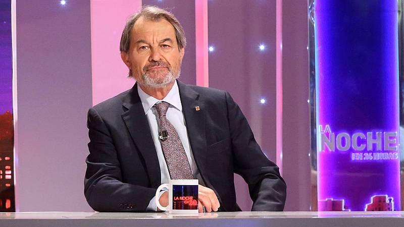 """Artur Mas: """"El tema central no es si hay vía unilateral o no, el tema central es si hay referéndum o no"""""""