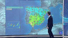 Temperaturas al alza en la mayor parte del país