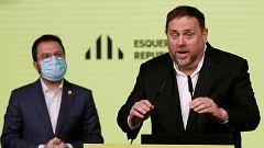 """ERC defiende que Junqueras siempre ha apostado por el """"diálogo"""" y Junts y la CUP le piden no renunciar a la vía unilateral"""