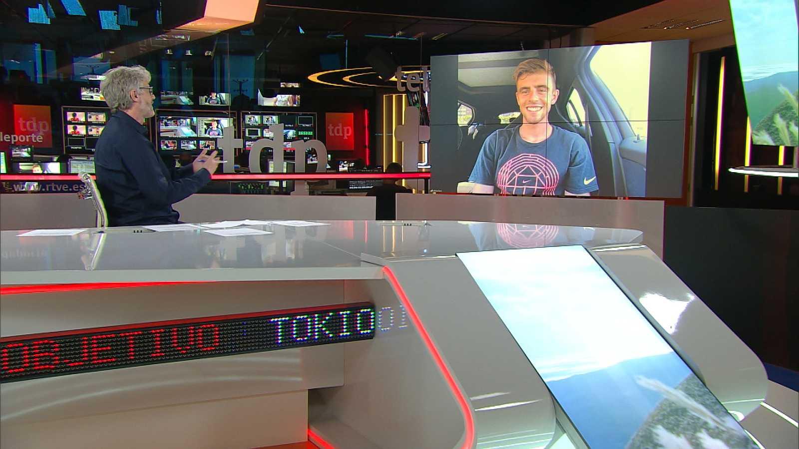 Objetivo Tokio - Programa 163: Adrián Ben, atleta español clasificado para los JJOO de Tokio 2020 y Paloma del Río, periodista de RTVE - ver ahora
