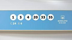Sorteo de la Lotería Bonoloto y Euromillones del 08/06/2021