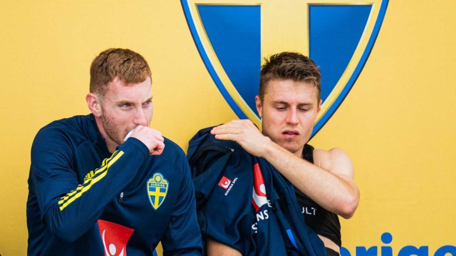 Dos positivos por coronavirus en la selección sueca