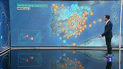 Fuertes tormentas este miércoles en el sistema Ibérico, Pirineos y norte de Cataluña