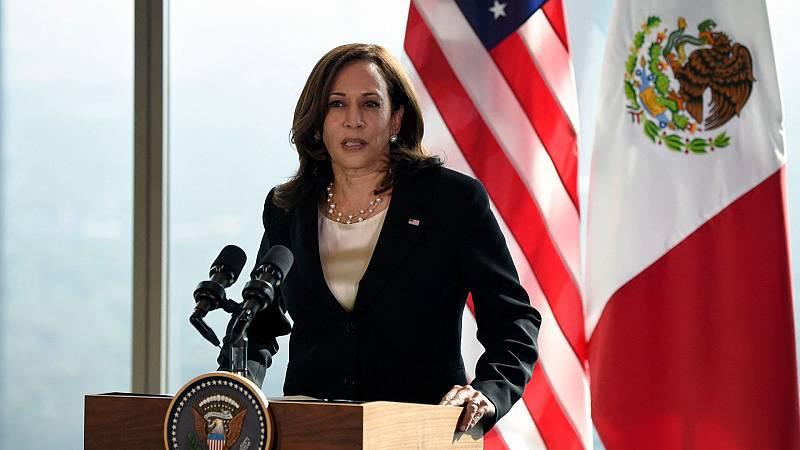 Kamala Harris ofrece el apoyo de EE.UU. para proteger los derechos laborales de México