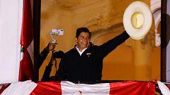 Castillo se proclama ya vencedor de las elecciones de Perú aunque el recuento continúa