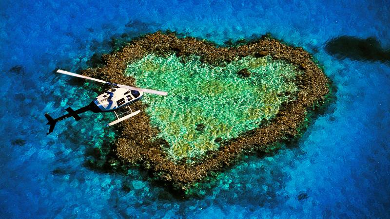 Detrás del instante - Heart island, foto de Gonzalo Azumendi