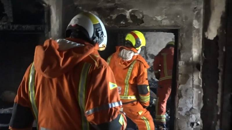 Fallece un hombre y otras tres personas resultan heridas en un incendio en Algemesí