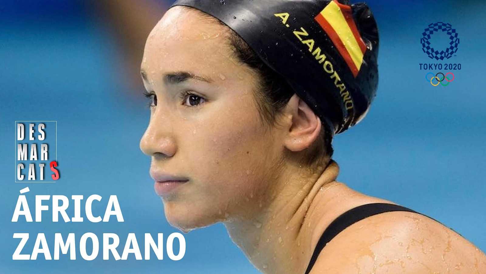 Desmarcats - África Zamorano, nedadora olímpica del CN Sant Andreu