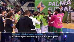 El Palma Futsal goleja al Saragossa i es classifica per a les semifinals