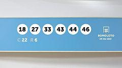 Sorteo de la Lotería Bonoloto del 09/06/2021
