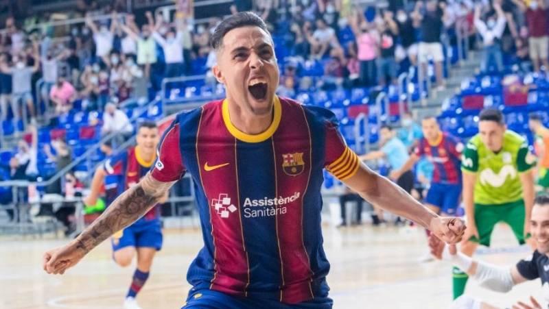 Futsal: El Barça da la vuelta a la eliminatoria y se mete en semifinales