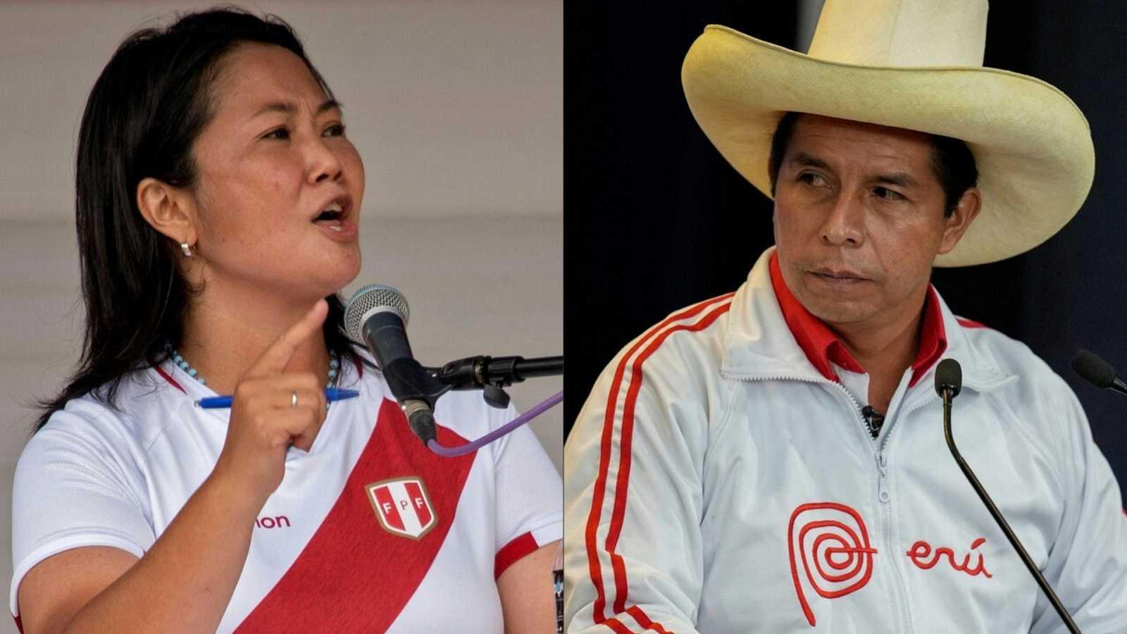 Fujimori pide anular 200.000 votos a Castillo en las elecciones de Perú - Ver ahora