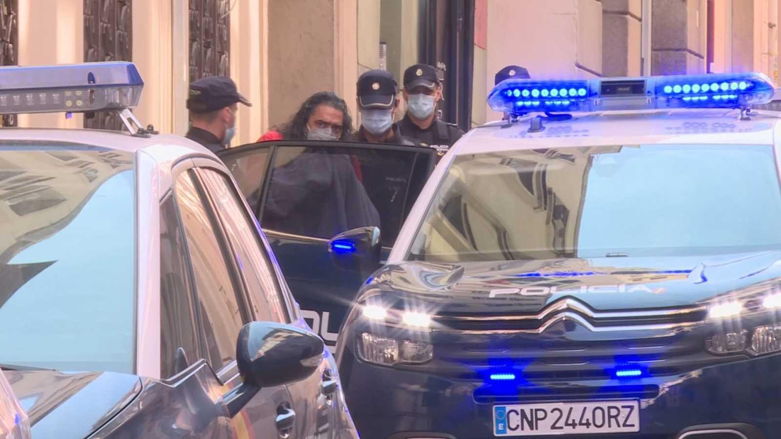 El cantaor flamenco Diego el Cigala pasa a disposición judicial tras ser detenido por un delito de violencia de género
