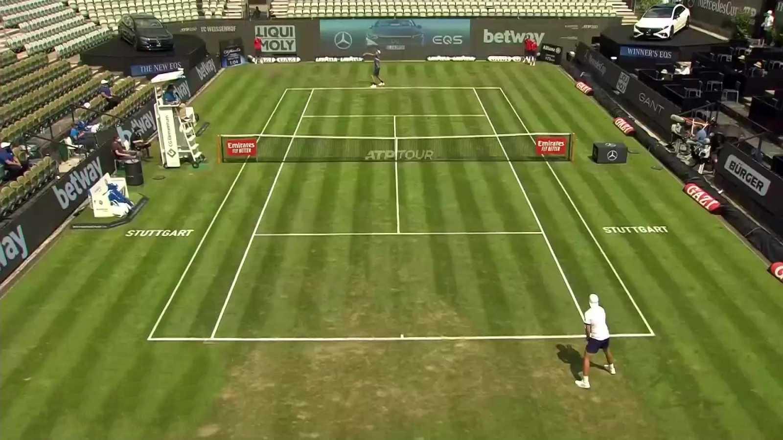 Tenis - ATP 250 Torneo Stuttgart: D.Stricker - H.Hurkacz - ver ahora