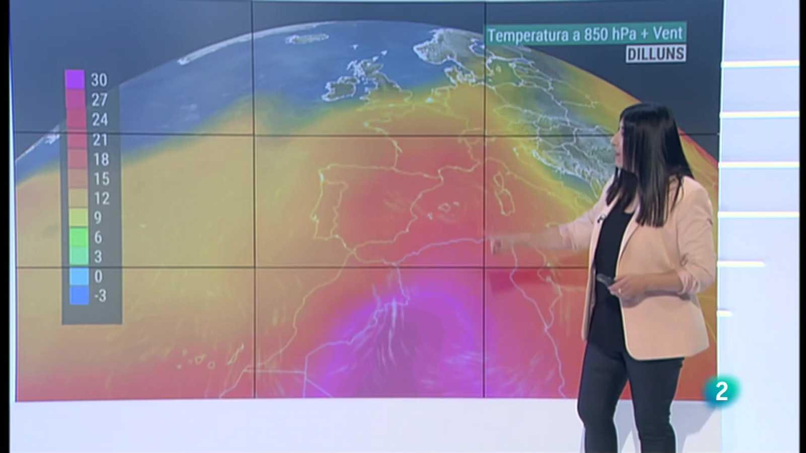 El Temps (10/06/2021) - Toca passar calor