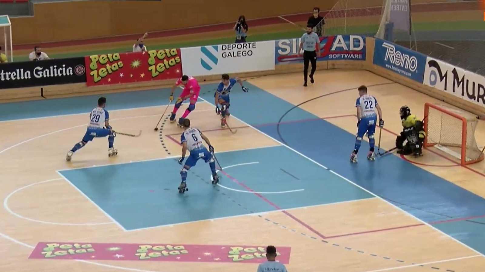 Hockey patines - Copa del Rey. 1/4 final: Recam Laser CH Caldes - CE Lleida Llista Blava - ver ahora