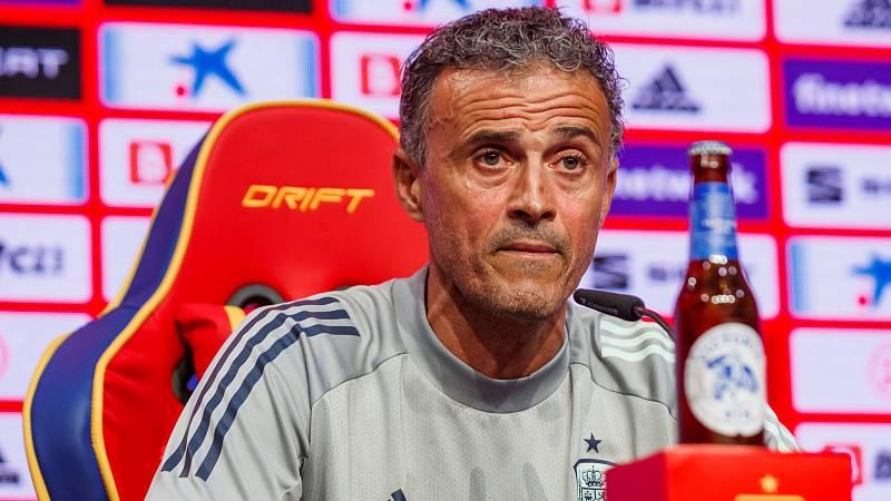 Luis Enrique esperará a Busquets y confía en el regreso de Diego Llorente