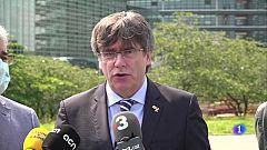 L'advocat Jordi Pina i l'expresident Puigdemont han presentat el recurs de Jordi Turull a Estrasburg