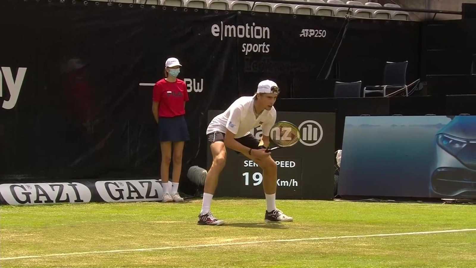 Tenis - ATP 250 Torneo Stuttgart: Ugo Humbert - Yannick Hanfmann - ver ahora