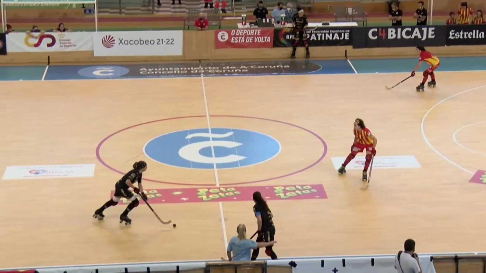 Hockey patines - Copa del Rey. 1/4 final: Magic Studio CP Manlleu - Telecable HC - ver ahora