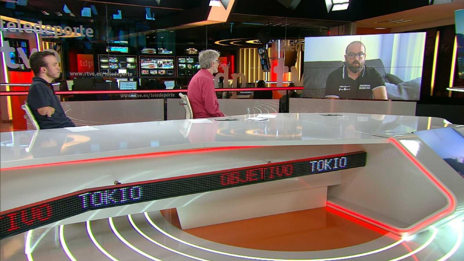 Objetivo Tokio - Programa 164 Paralímpicos: Asier García, jugador de la selección española de baloncesto en silla de ruedas - ver ahora