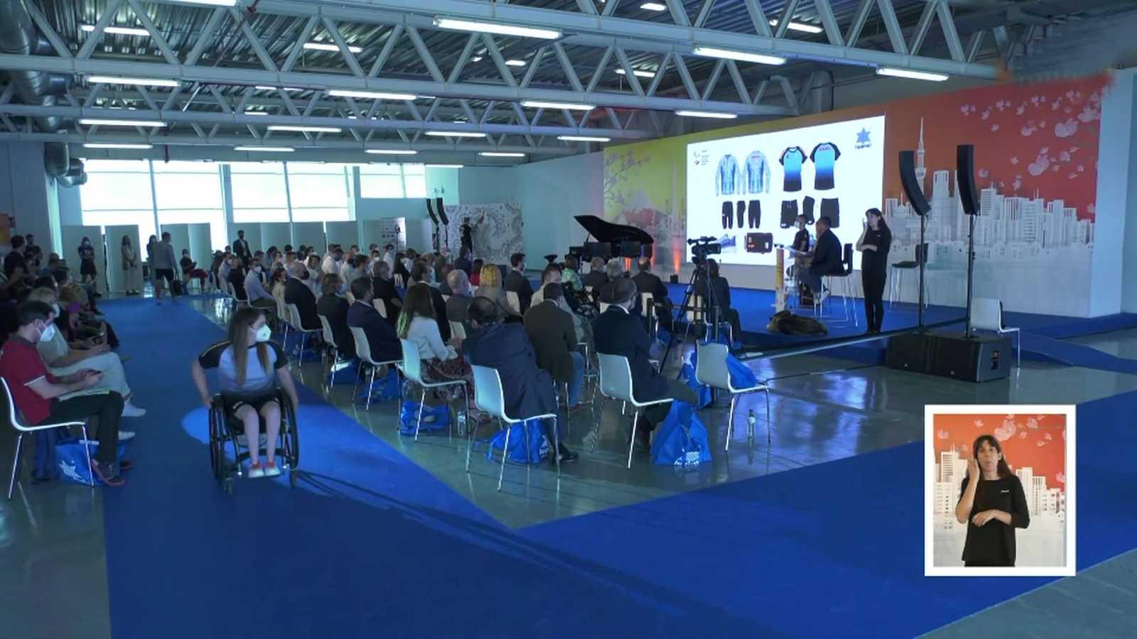 Presentación de la equipación oficial de España para los Juegos Olímpicos de Tokio - ver ahora
