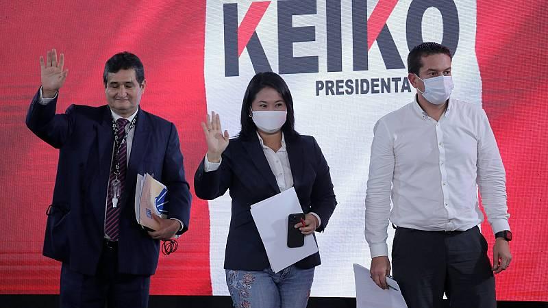 La Fiscalía peruana pide cárcel para Fujimori en pleno recuento electoral