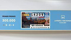 Sorteo de la Lotería Nacional del 10/06/2021