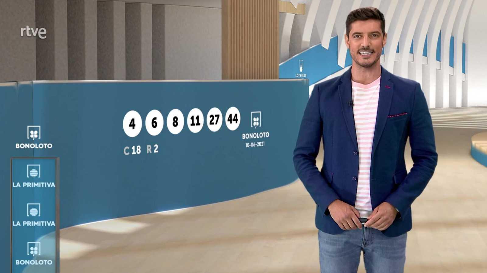 Sorteo de la Lotería Nacional, Bonoloto, Primitiva y Jóker del 10/06/2021 - ver ahora