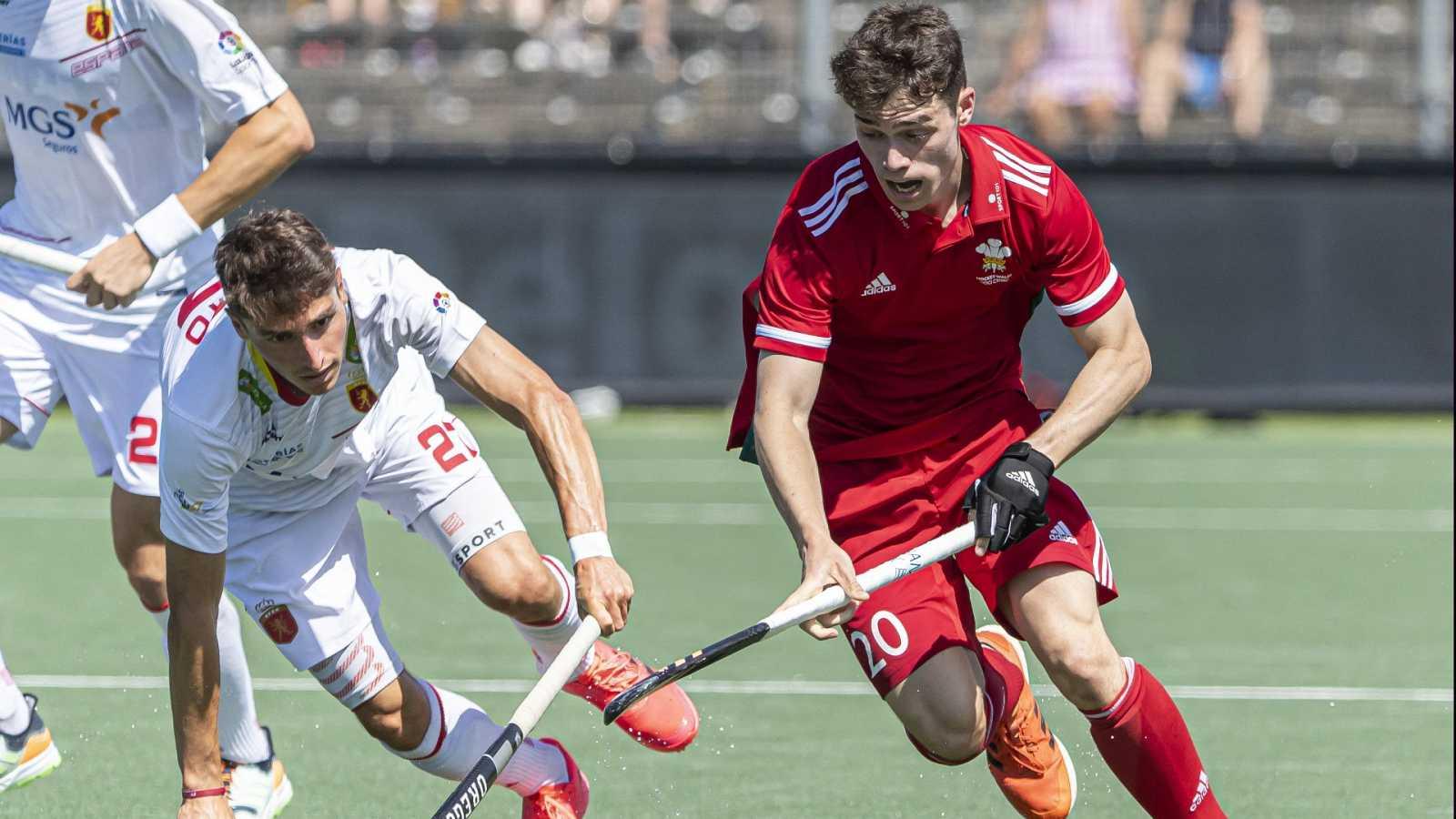 Hockey hierba - Campeonato de Europa masculino: España - Gales - ver ahora