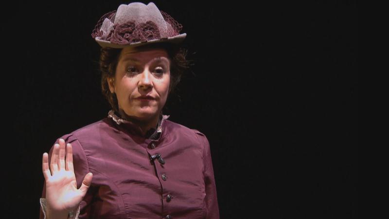 Emilia Pardo Bazán a escena en el Teatro del Barrio