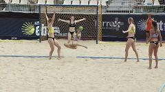 Balonmano playa - Campeonato de Europa de clubes. Resumen
