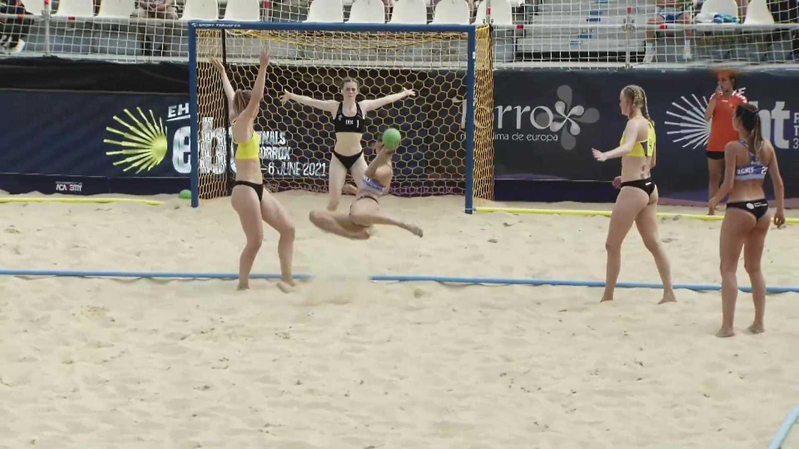 Balonmano playa - Campeonato de Europa de clubes. Resumen - ver ahora