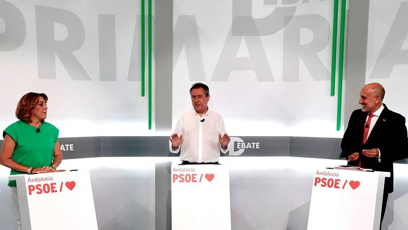 Susana Díaz, Juan Espadas y Luis Ángel Hierro: ¿quién es quién en las primarias del PSOE andaluz?