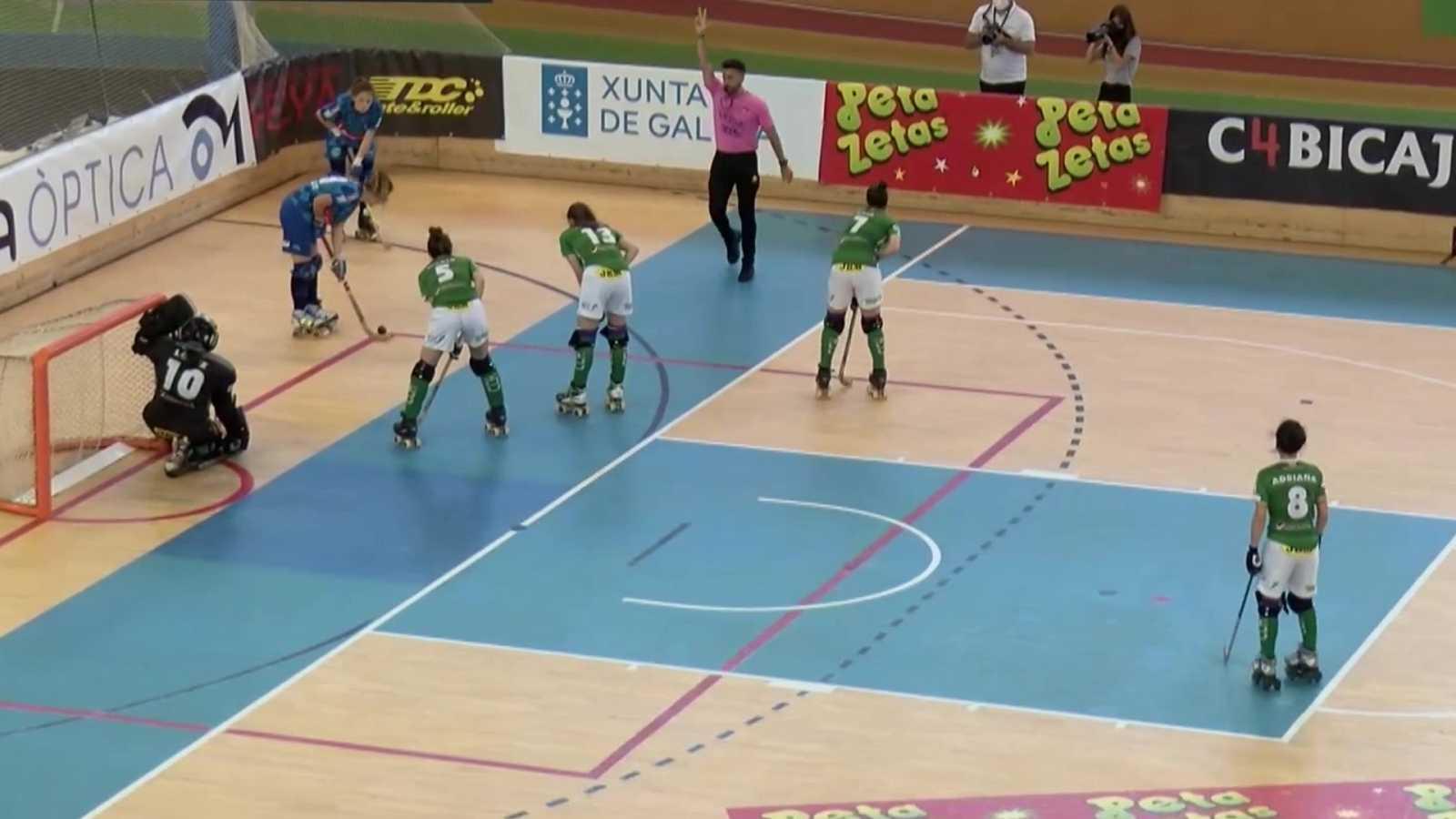 Hockey patines - Copa de la Reina. 1/4 final: Cerdanyola CH - CP las Rozas - ver ahora