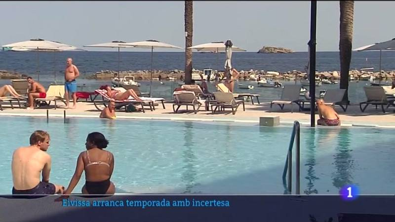 La temporada turística no acaba d'arrencar a Eivissa