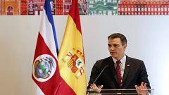 """Sánchez asegura que algunos partidos """"han banalizado"""" la violencia de género y pide que se deje la """"lucha partidista"""""""