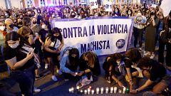 Manifestaciones por toda España en repulsa a los últimos crímenes de violencia machista
