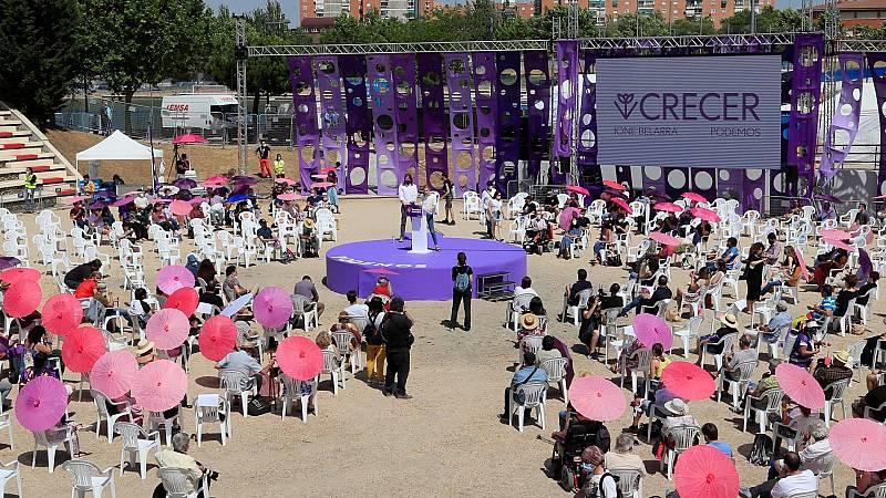 """Belarra se perfila como la futura líder de Podemos con su candidatura 'Crecer' y aspira a ser la """"primera fuerza progresista"""""""