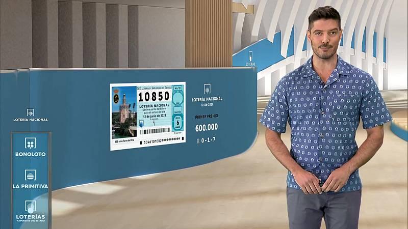 Sorteo de la Lotería Nacional del 12/06/2021 - ver ahora