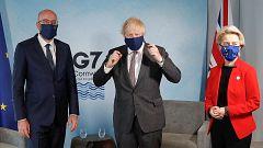 Johnson aprovecha el G7 para reunirse con los máximos representantes de la UE y tratar los desacuerdos en torno al 'Brexit'