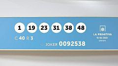 Sorteo de la Lotería Primitiva y Joker del 12/06/2021