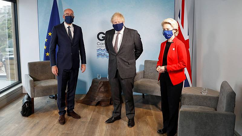 El 'Brexit' se cuela de lleno en el debate del G7, a pesar de no estar en la agenda
