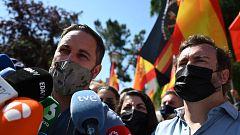 """Abascal, en Colón: """"Venimos sin miedo; la foto de la vergüenza es la del Gobierno con los enemigos de España"""""""