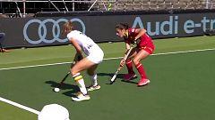 Hockey hierba - Campeonato de Europa femenino. 3º y 4º puesto: Belgica - España