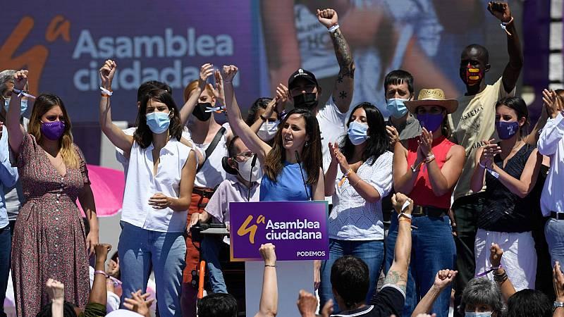 """Belarra, elegida nueva líder de Podemos: """"Me voy a dejar la piel para llevar este proyecto lo más lejos posible"""""""