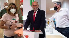 Los socialistas andaluces deciden su candidato a la Presidencia de la Junta