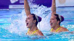 Natación artística - Clasificación olímpica final rutina libre duos