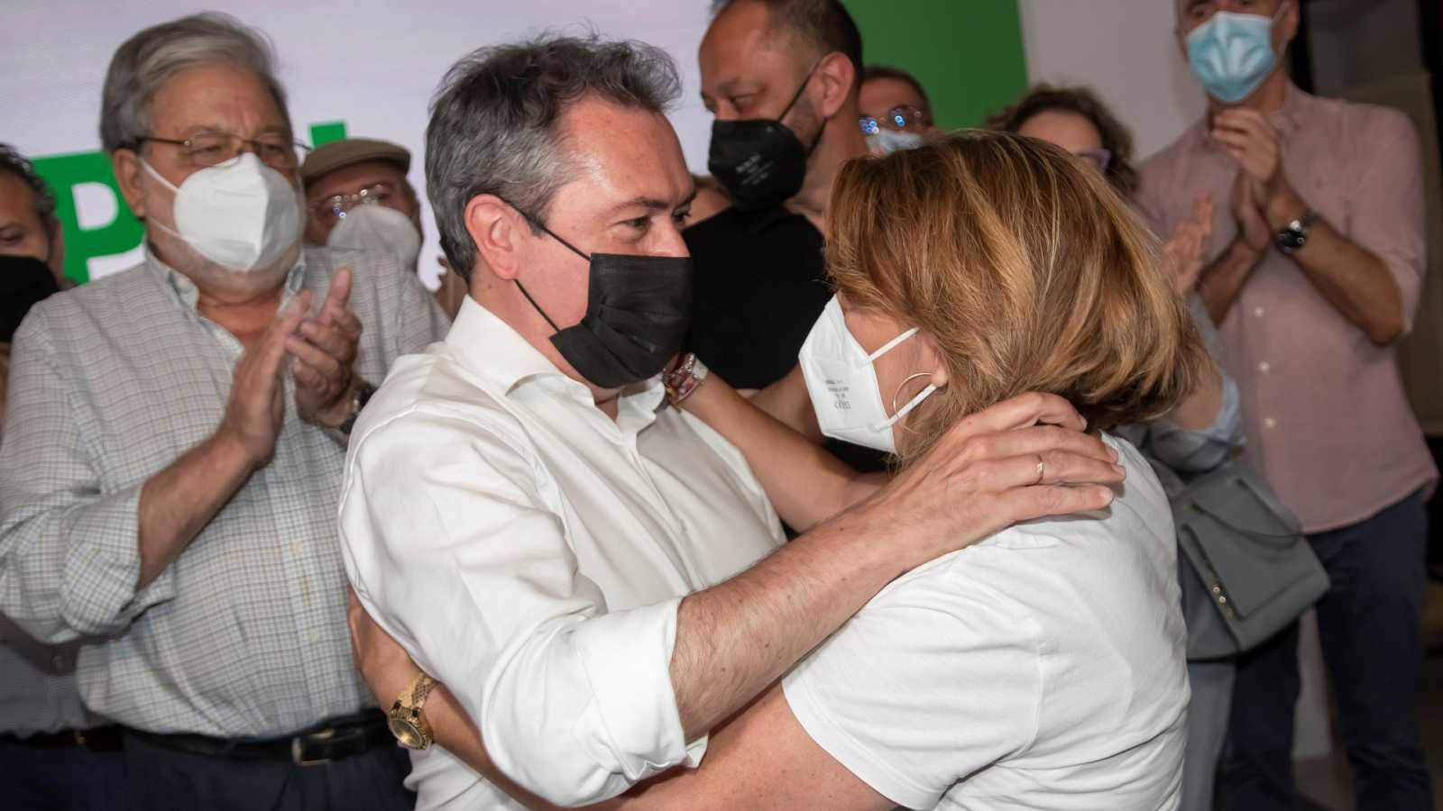 Juan Espadas gana las primarias del PSOE andaluz y Susana Díaz renuncia a la Secretaría General