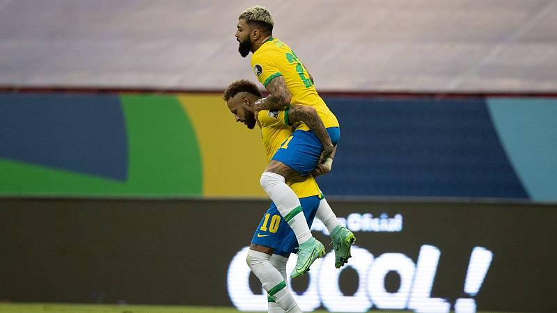 Brasil debuta con victoria en la Copa América pese a las discrepancias políticas